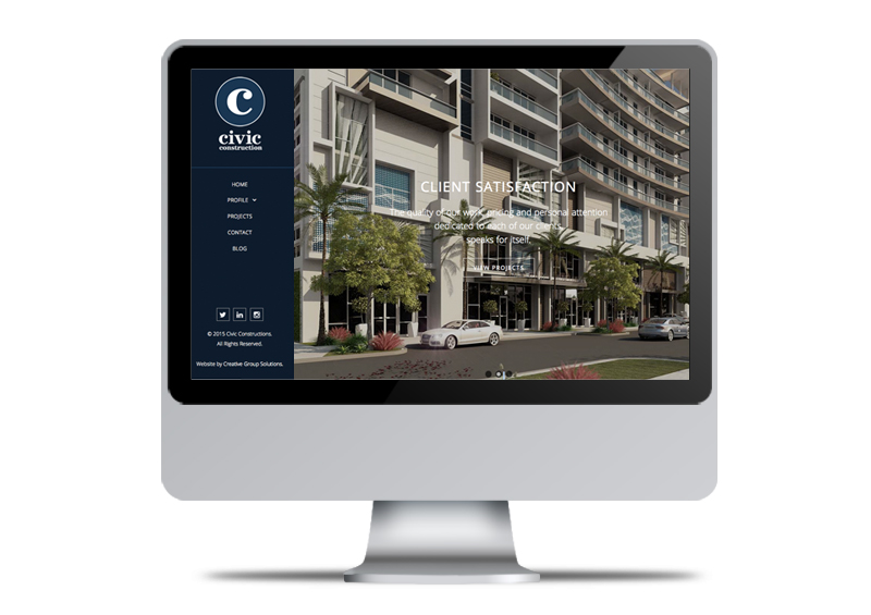Civic Construction | Web Design & Development