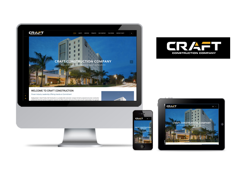 Craft Construction | Web Design & Development
