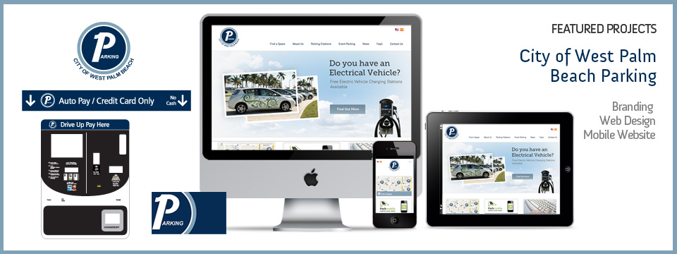 City of West Palm Beach Parking | Branding - Web Design - Mobile Website