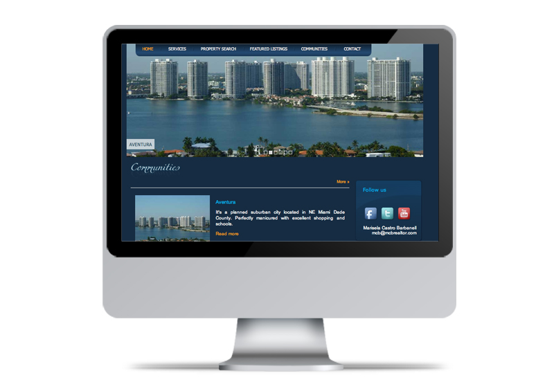 Mcb Realtor | Website Design & Development