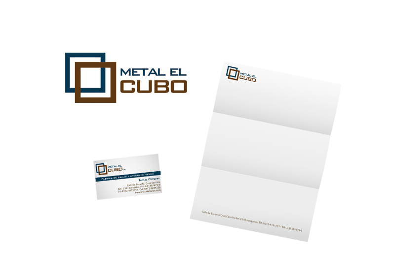 Metal El Cubo | Branding
