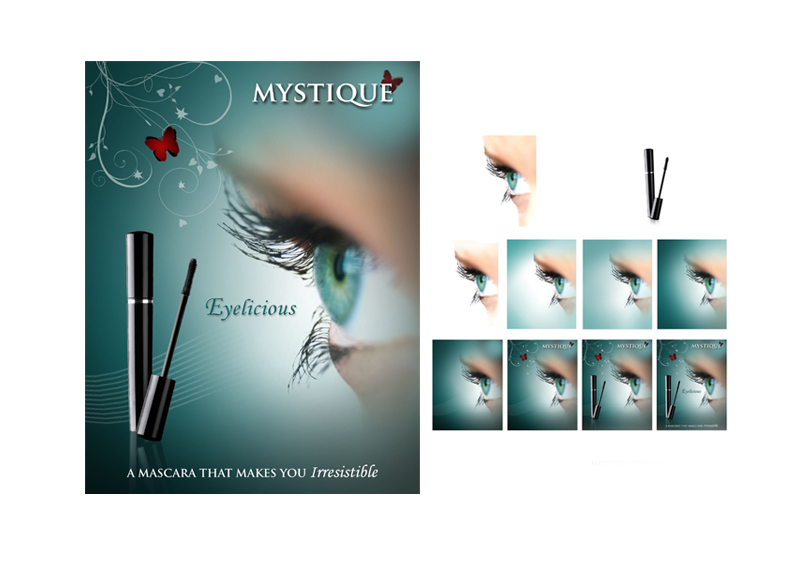 Mystique | Eyelicious Design Process