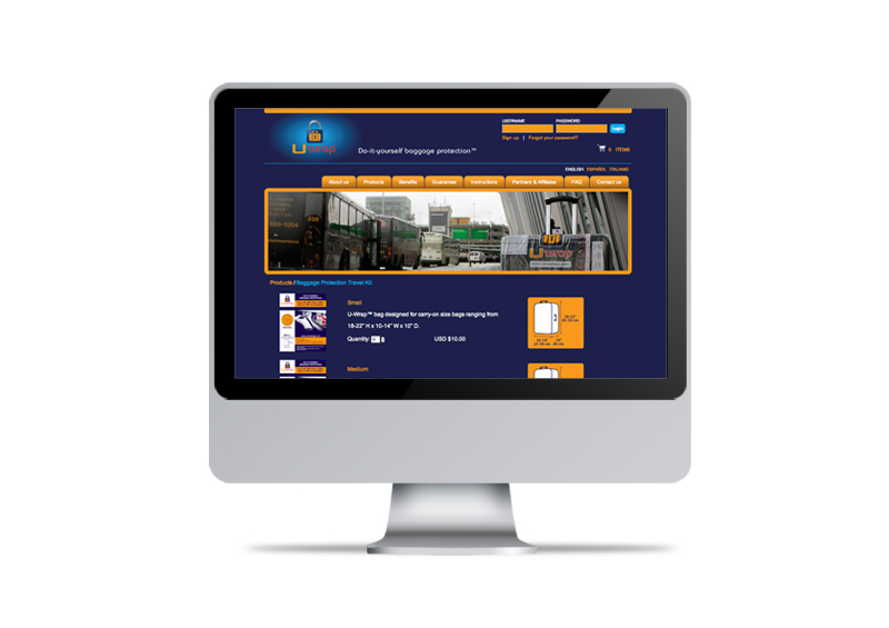 U-Wrap | Website Design & Development