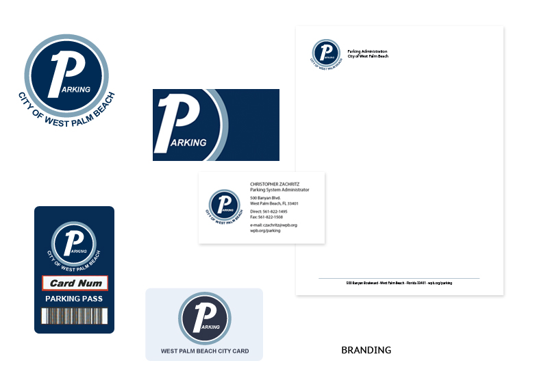 City of West Palm Beach Parking | Branding