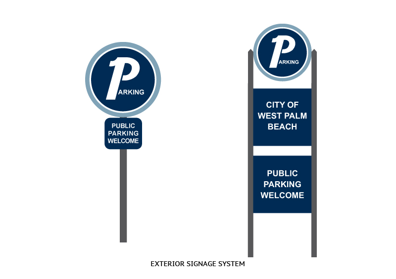 City of West Palm Beach Parking | Signage Design