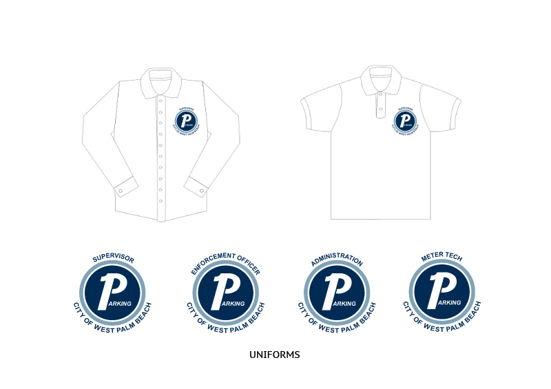 City of West Palm Beach Parking | Uniforms Design