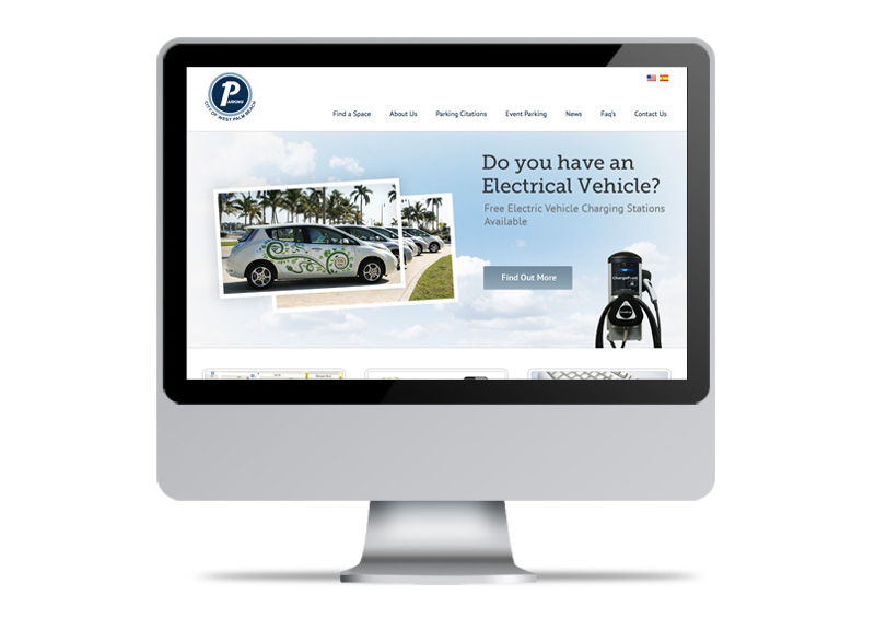 City of West Palm Beach Parking | Website Design & Development